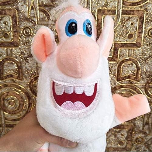 Lelesta Booba Buba Maialino Bianco Cooper Peluche Figura Peluche Ripiene Doll Peluche Booba Buba Russia White Cooper Puppet Anime Happy Pig 25cm