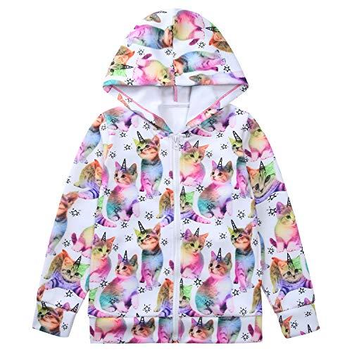 Liliane Coats for Girls Coat Girl 3t Coat Girls Jackets for Girls 3t Jacket 2t Jacket Girls Fleece Jacket 2t Coats for Girls(A038, 2-3 Years)