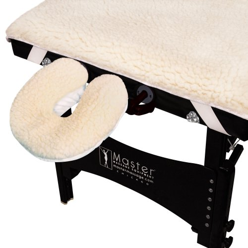 Master Massage New Ultra Fleece Pad Sheet Set for Massage Table (Fleece Table Pad)