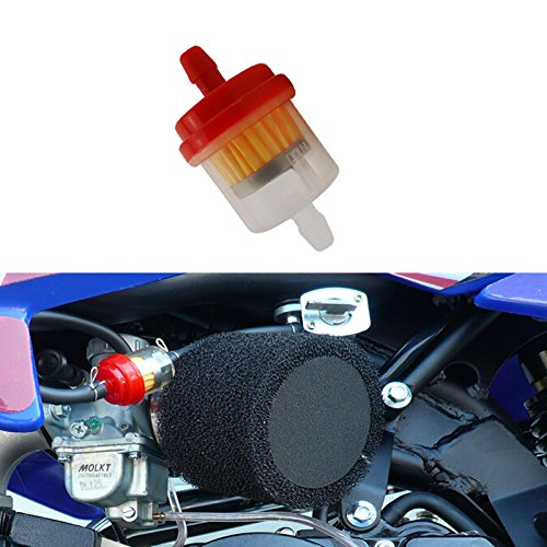 Race-Guy 10x Petrol Gas Fuel Filter For ATV Quad 4 Wheeler Buggy Go Kart Snowmobile Pit Dirt Bike Motorcycler Motocross
