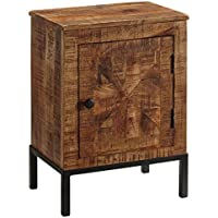 Ashley Furniture Signature Design - Charlowe Nightstand - Solid Acacia Wood Construction - Brown