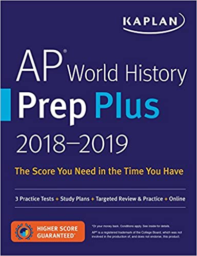 Ap world history prep plus 2018 2019 3 practice tests study ap world history prep plus 2018 2019 3 practice tests study plans targeted review practice online kaplan test prep kaplan test prep fandeluxe Choice Image