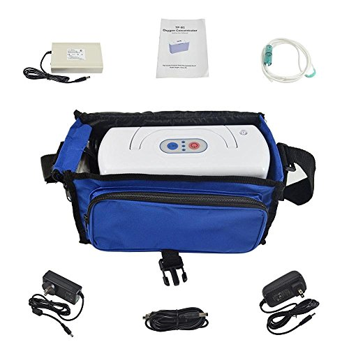 Car Oxygen Bar (HouseHold Server (TM)Portable Oxygen Bar Machine with Two Battery for travelling and car use)