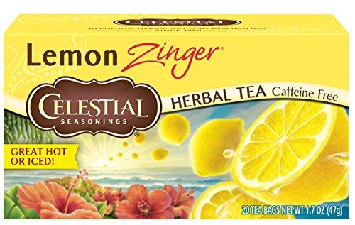 Celestial Seasonings Lemon Tea - Celestial Seasonings Lemon Zinger Tea, 20 ct