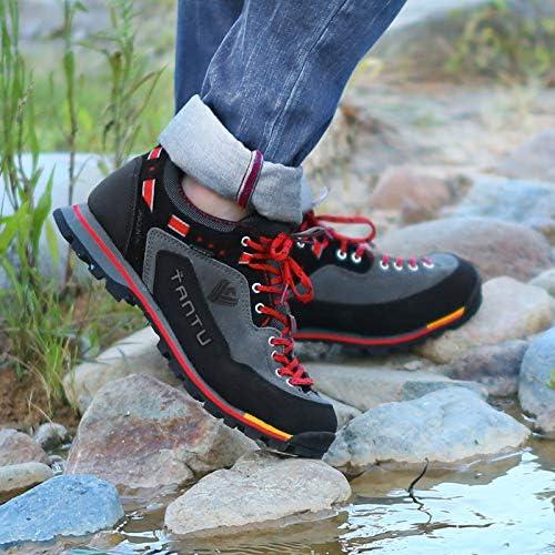 メンズ アウトドアシューズ 登山靴 軽量 ウォーキングシューズ トレッキングシューズ