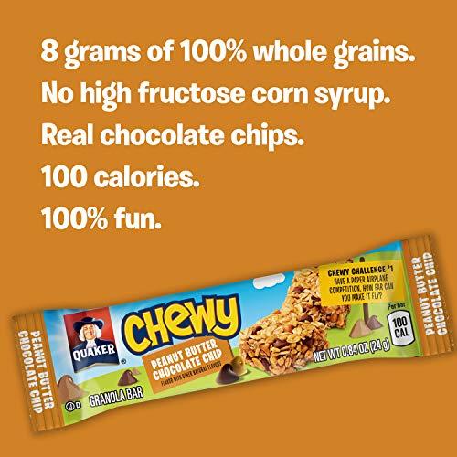 Quaker Chewy Granola Bars, Variety Pack, 58 Bars