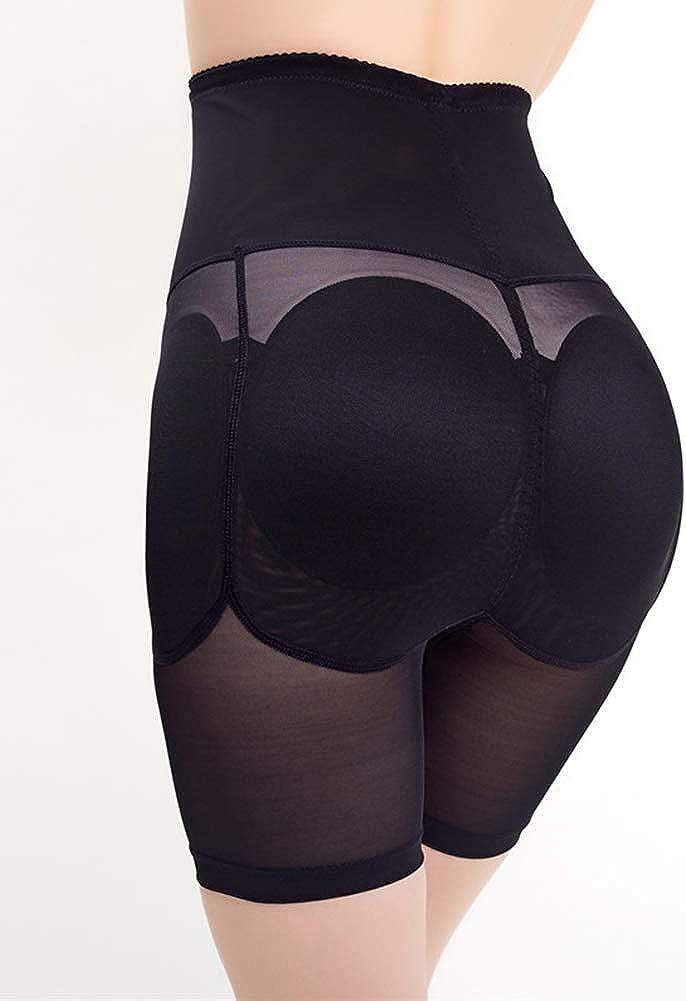 HONGBI Femme Culotte Push Up Fesse Rembourr/é Butt Lifter Gaine Amincissante Ventre Plat Panty Gainant Culotte Sculptante Shorts Minceur Taille Haute Invisible Boyshort Panties