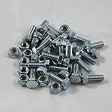 20pcs Auger Shear Pins Bolts & Nuts Honda HS1132 HS624 HS828 HS928 HS724 & New HSS Series 724, 928, 1332