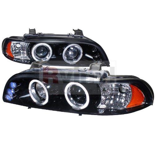 bmw 528i black headlights - 5