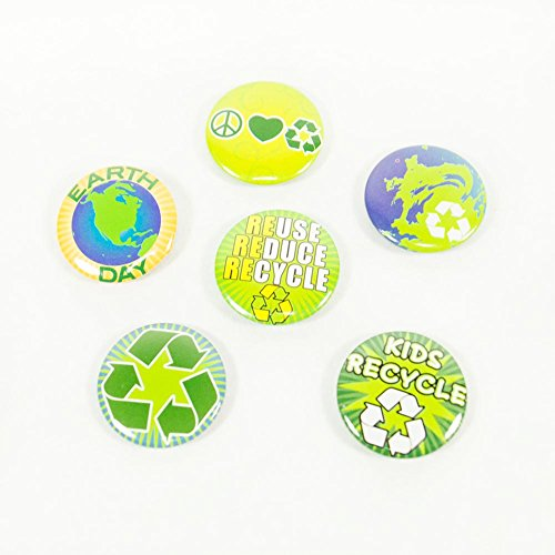Fun Express Mini Earth Day Buttons