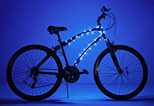 Blue Led Cycle Light - 6
