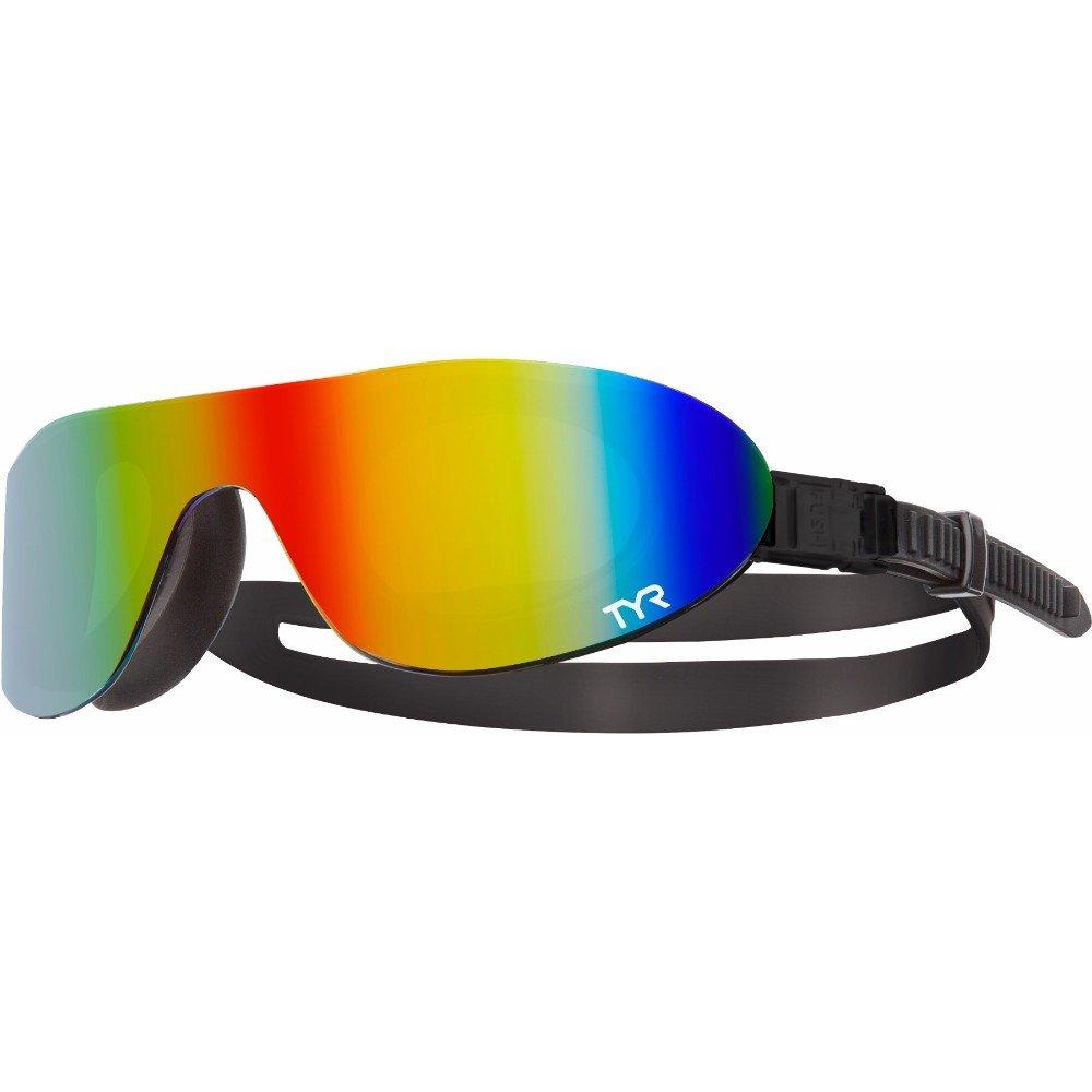 TYR Mirrored SwimShades Goggles lenti in policarbonato unisex Occhialini da nuoto