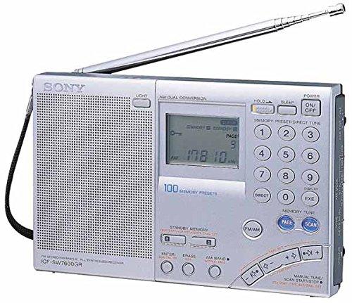 【初回限定】 SONY 日本製 WORLDBAND RECEIVER 短波ラジオ [ICF-SW7600GR] [並行輸入品]   B01AU5QXIW, 楓奏(ナチュラル雑貨かえでそう) d73db038