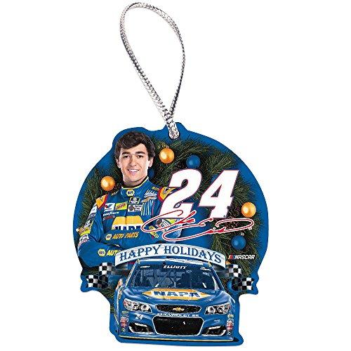 Chase Elliott #24 NASCAR Hanging Christmas Tree Ornament