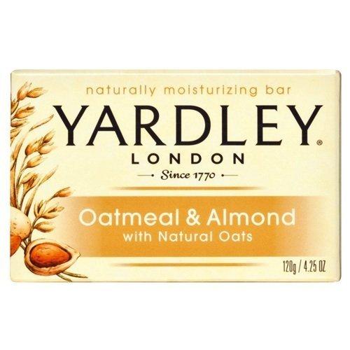 Yardley Oatmeal and Almond Bar Soap, 4.25 oz. (Pack of - Bar Executive