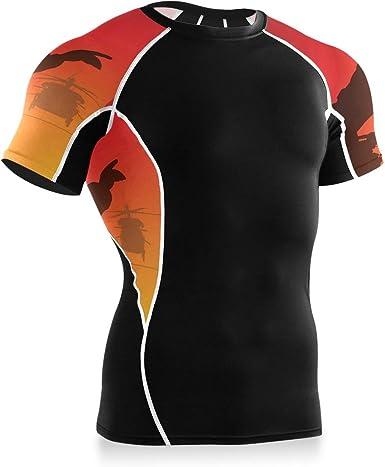 MONTOJ Sunset Air Raid Camisa de entrenamiento para bicicleta ...