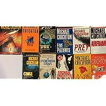 Michael Crichton 10 Novel Set