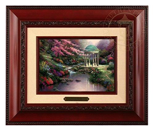 Thomas Kinkade Pools of Serenity Brushwork (Brandy Frame) by Thomas Kinkade