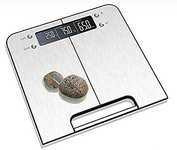ZhangTianShi Báscula de baño Básculas de altura y peso, básculas grasas, báscula multiusos de altura y peso, grasa, cuerpo Bluetooth inteligente: Amazon.es: ...