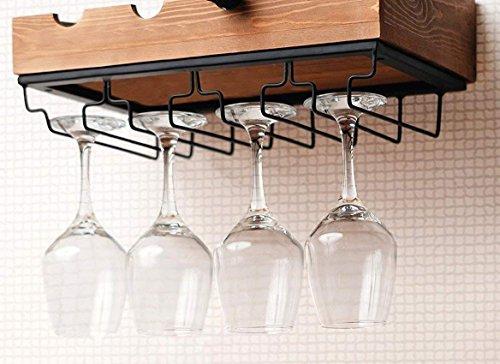 Hanging Wine Glass Rack Ikea | Hanging wine glass rack, Wall