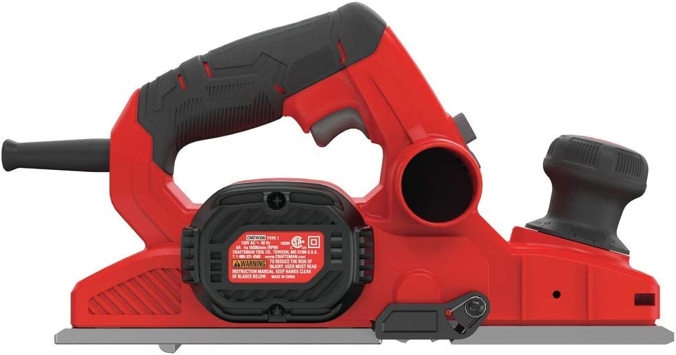5/64-Inch CMEW300 CRAFTSMAN Hand Planer 6-Amp Power Tools Tools ...