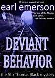 Front cover for the book Deviant Behavior by Earl Emerson