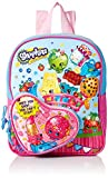 Shopkins Girls 10 Inch Mini Backpack Heart Shaped Pocket, Pink
