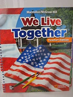 We live together practice and activity book grade 2 macmillan we live together teachers edition grade 2 macmillan mcgraw hill social studies fandeluxe Choice Image