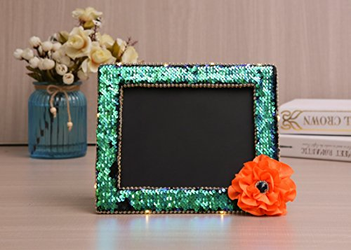Sdsaena Chalkboards Easel Stand,Made of Wood for Weddings, Parties, Table Numbers, Food Signs,Sidewalk, Restaurant, Cafe,Bar-Special Design