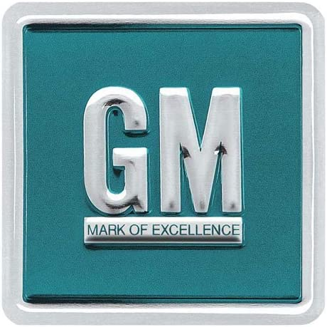 OEM GM MARK OF EXCELLENCE STICKER