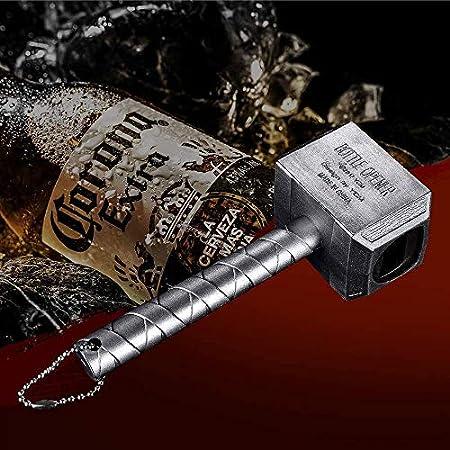 TUSNAKE Thor Hammer Abrebotellas, Grande, sacacorchos Llave de Bebida, Suministros de Personalidad Creativa para la Familia, Restaurante, Bar, Hotel