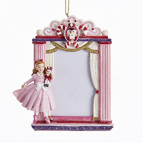 Kurt Adler Clara Nutcracker Suite Picture Frame Ornament