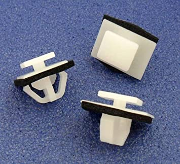 Remaches Plásticos- Clips Remache Embellecedor Paneles Laterales (91513-SM4-000 / 91513SM4000): Amazon.es: Coche y moto