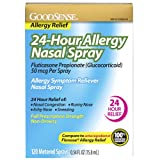 GoodSense 24-Hour Allergy Relief Nasal Spray, 0.54...