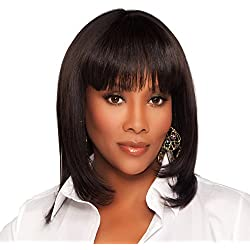 Vivica A. Fox H202-V Premium Human Hair, PS Cap Wig in Color 4
