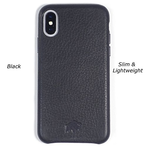 hot sale online 06580 5d846 iPhone X Leather Case Burkley, Sturdy Snap-on Case Apple iPhone X   Slim &  Li: Best Price in Malaysia