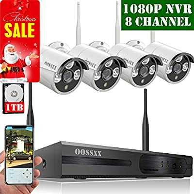 2018 White Wireless Camera System from OOSSXX