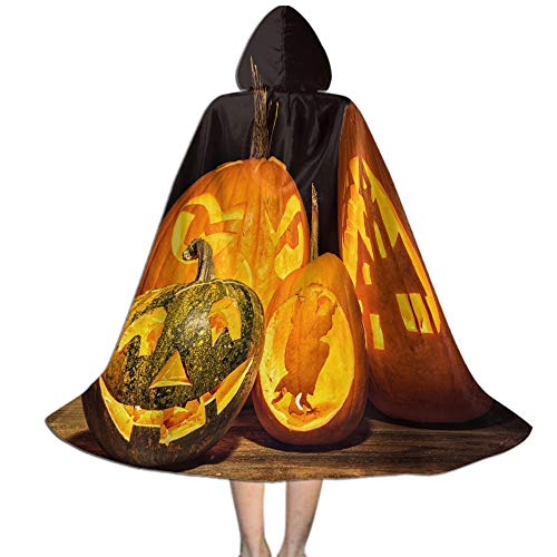 Halloween Costumes Cape for Kids, Costume Party Cosplay Halloween Decoration - M
