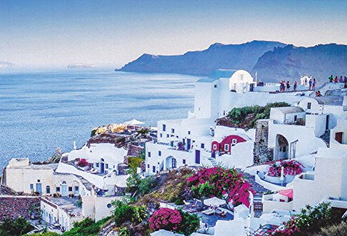 CHARMEU12 - SANTORINI, GREECE - - A Charming Europe Postcard from Hibiscus - Palace In Caesars Stores