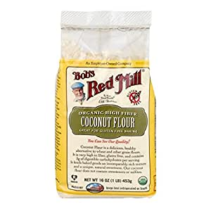 Bob's Red Mill Organic Coconut Flour, 453 gm
