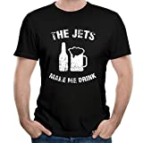 The Jets Make Me Drink Gift For Men's T-shirts