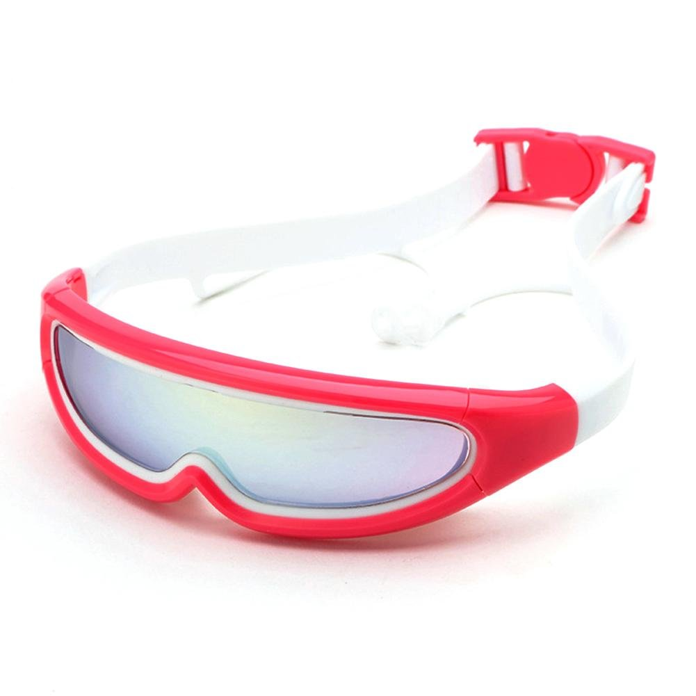 Swimming goggles children, No Leaking Anti Fog swimming glasses kids With Earplugs for Children and Early Teens from 3 to 15 Years Old YUKE