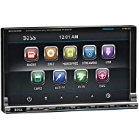 BOSS AUDIO BV9759BD 7 Double-DIN In-Dash DVD Receiver with Bluetooth & iPod Control