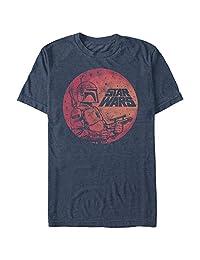 STAR WARS Fett Up Graphic Playera Camiseta para Hombre