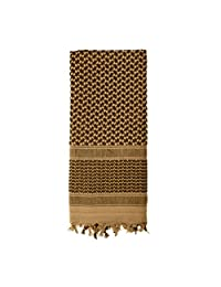 Rothco Plus Lightweight Shemagh Desert Scarf, Coyote