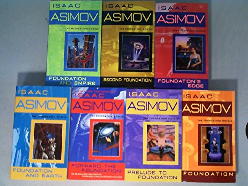 The Complete Isaac Asimov's Foundation Series Books 1-7 (Foundation, Foundation and Empire, Second Foundation, Foundation's Edge, Foundation and Earth, Prelude to Foundation, Forward the Foundation) by Bantam Spectra