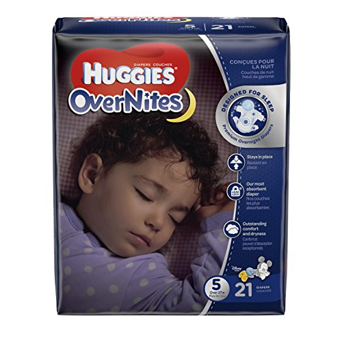 Huggies Overnites Diapers Size 21