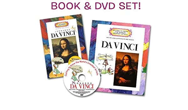 getting to know leonardo da vinci artist book dvd set getting to know the worlds greatest artists