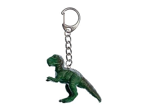 miniblings T-Rex llaveros Verde Tyrannosaurus Dinosaurio ...
