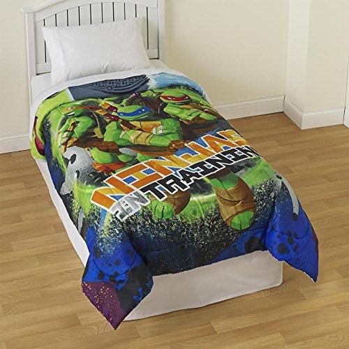 Nickelodeon Teenage Mutant Ninja Turtles ''NYC'' Comforter, Twin